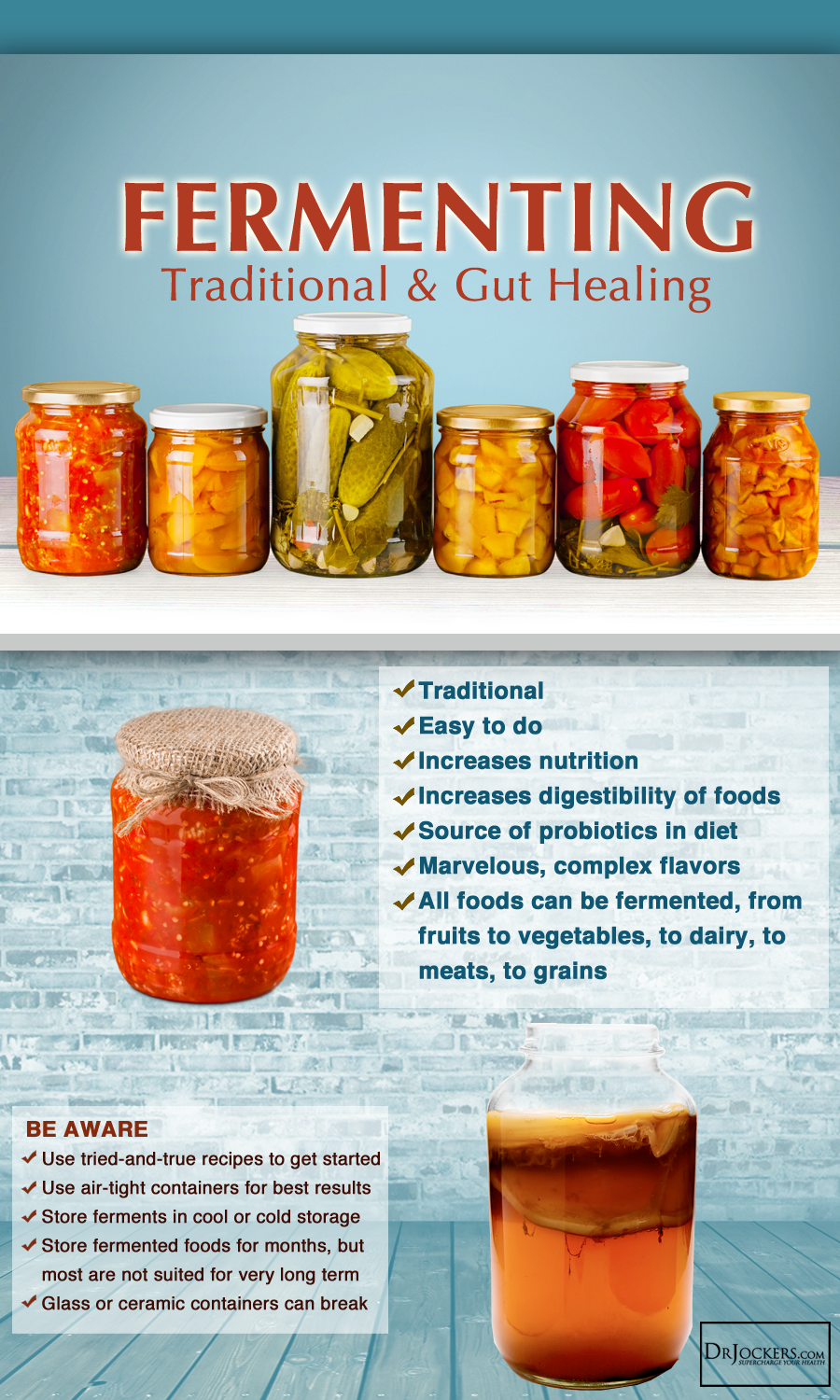 Top 10 Best Fermented Foods To Heal Your Gut