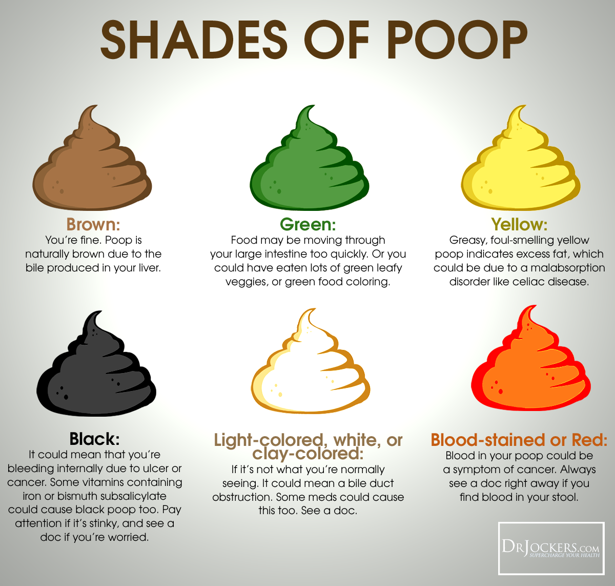 16 ways to achieve a healthy poop for What color do you like