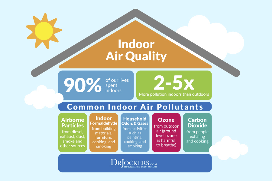 6 Ways To Turn Your House Into A Productive Home Environment: 6 Ways Indoor Air Pollution Affects Your Health