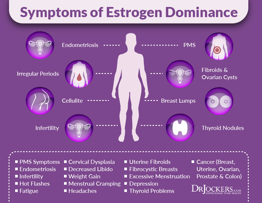 Estrogen Dominance Symptoms and Solutions - DrJockers com