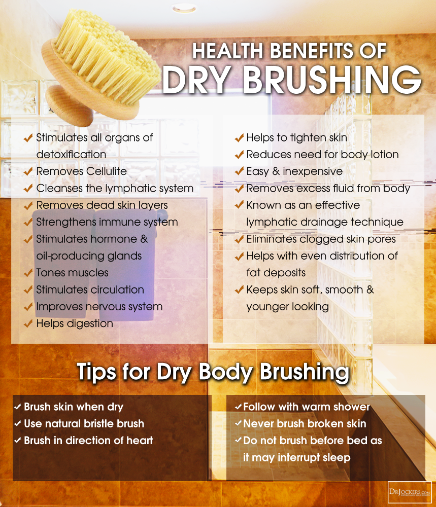 dry brushing, Dry Brushing to Detoxify Your Body