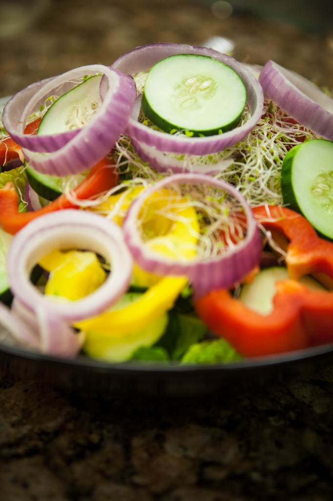 raw sprouting ideas salad, Raw Sprouting Ideas Salad