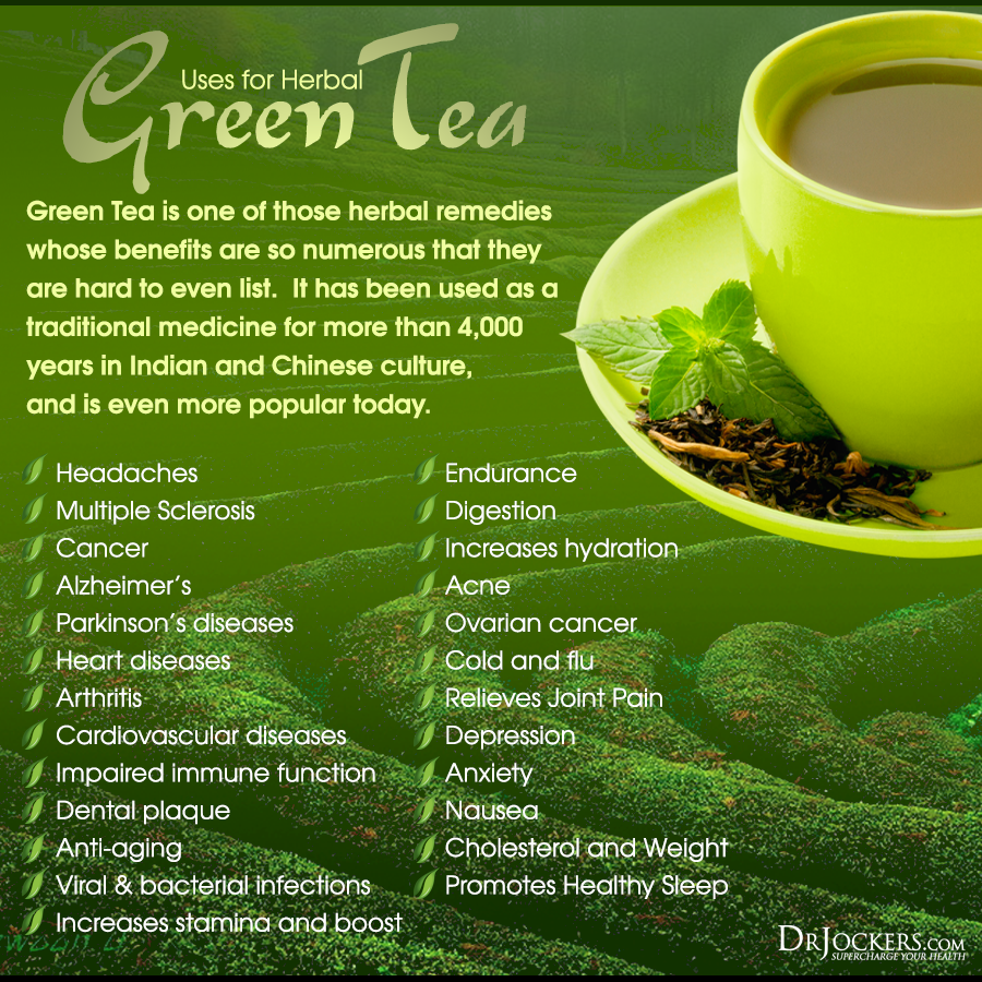 top 10 health benefits of green tea - drjockers