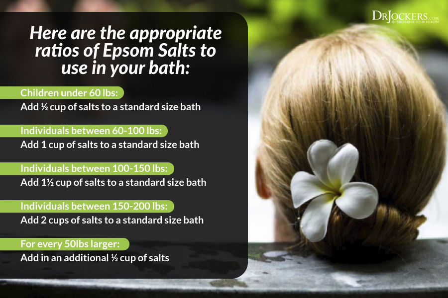 Epsom Salt Baths, The Health Benefits of Epsom Salt Baths