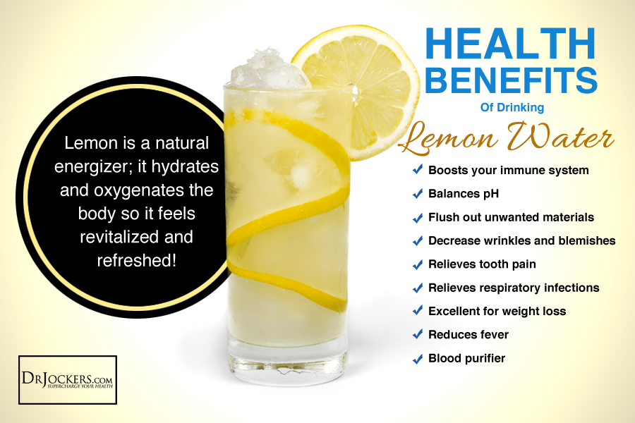 Lemon water, Boost Your Energy with Lemon Water