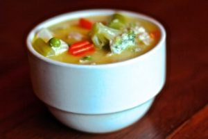 Chicken Veggie Soup, SuperCharged Chicken Veggie Soup