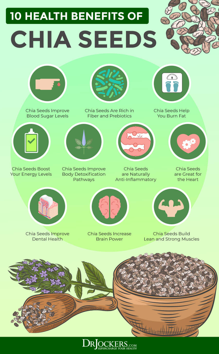 chia seeds, The Top 3 Health Benefits of Chia Seeds