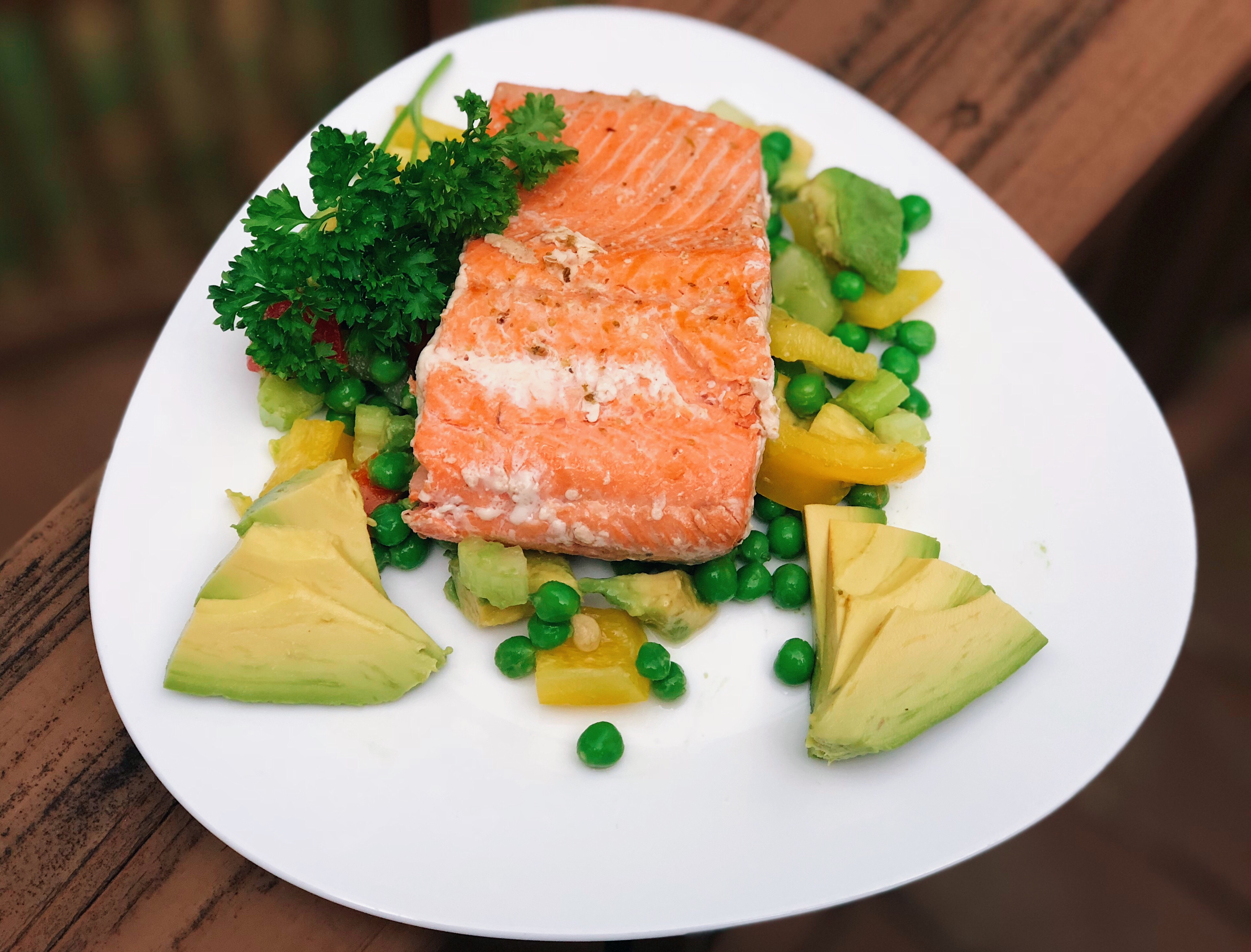 Salmon Salad, Super Brain Salmon Salad