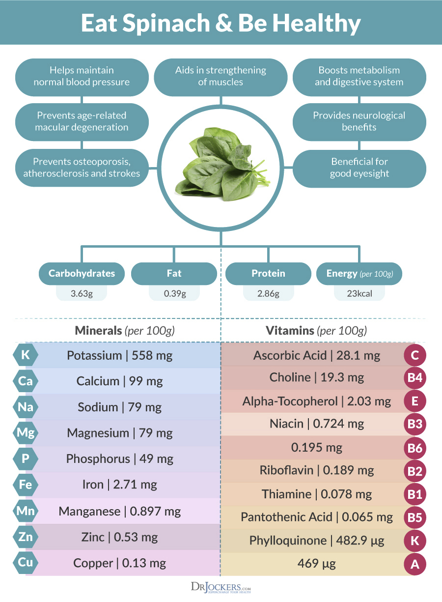 spinach, The Popeye Effect:  How Does Spinach Enhance Muscle Growth?