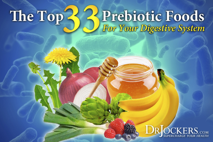 Prebiotic, The Top 33 Prebiotic Foods for Your Digestive System