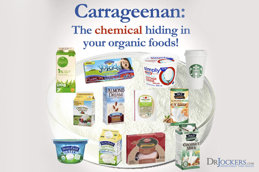 carrageenan, Carrageenan:  What is it and is it a Harmful Substance?