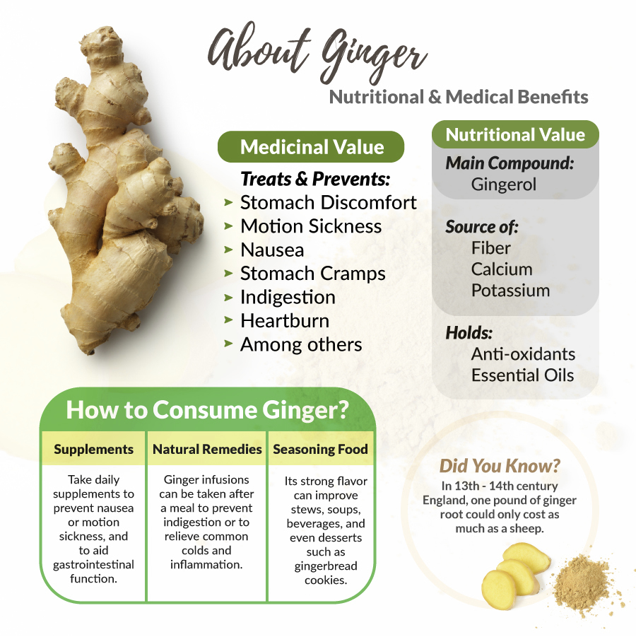 ginger, Ginger:  10 Ways This Herb Improves Digestion