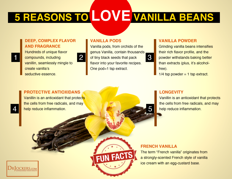 vanilla, 5 Health Benefits of Natural Vanilla