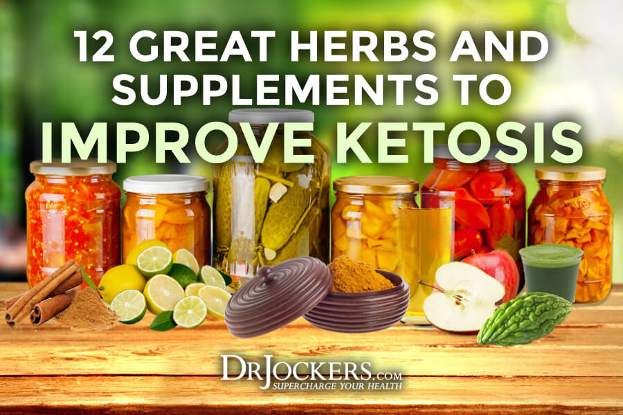 improve ketosis, 12 Great Herbs and Supplements to Improve Ketosis
