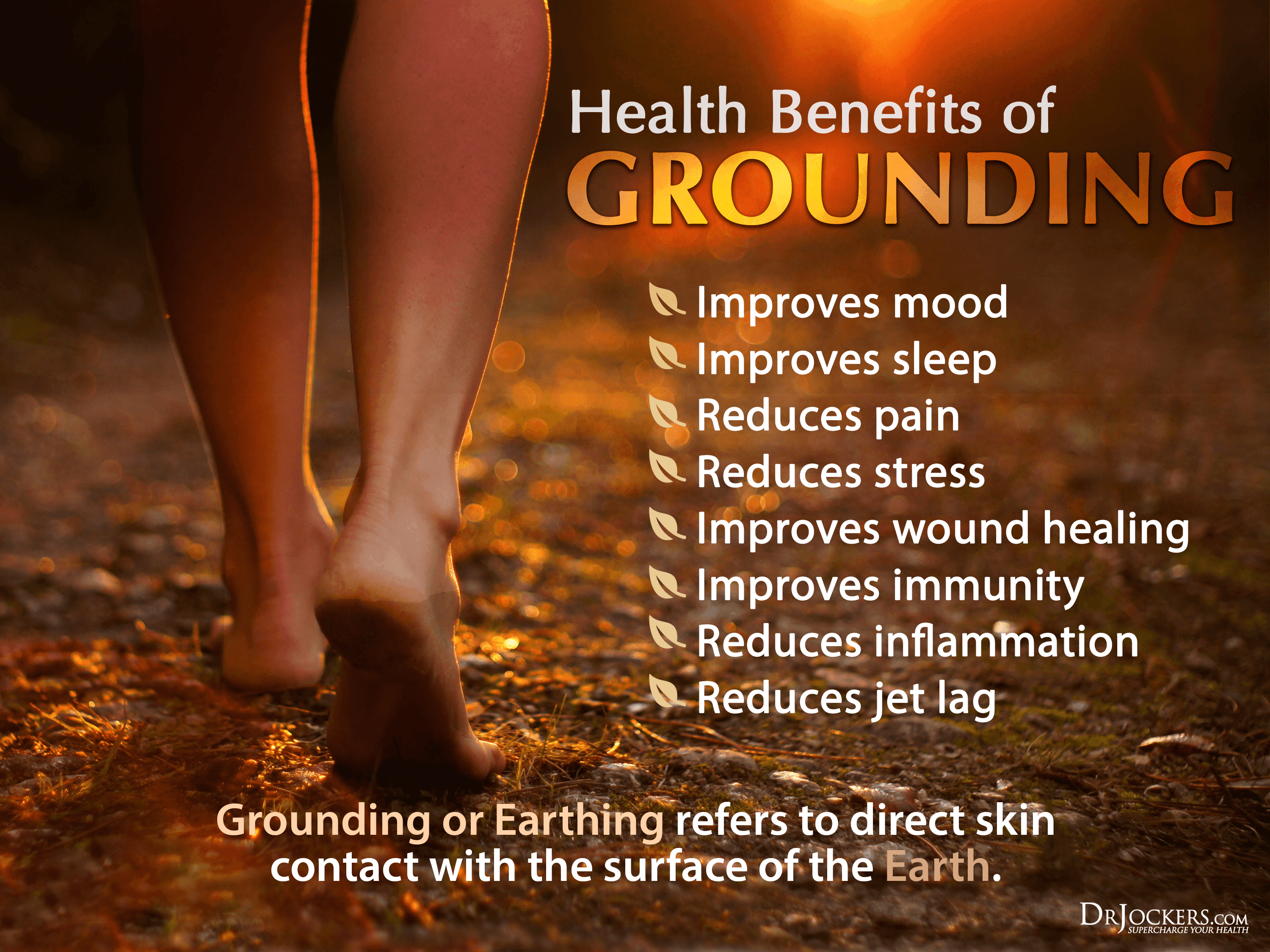 Grounding, Grounding Your Body for Optimal Health