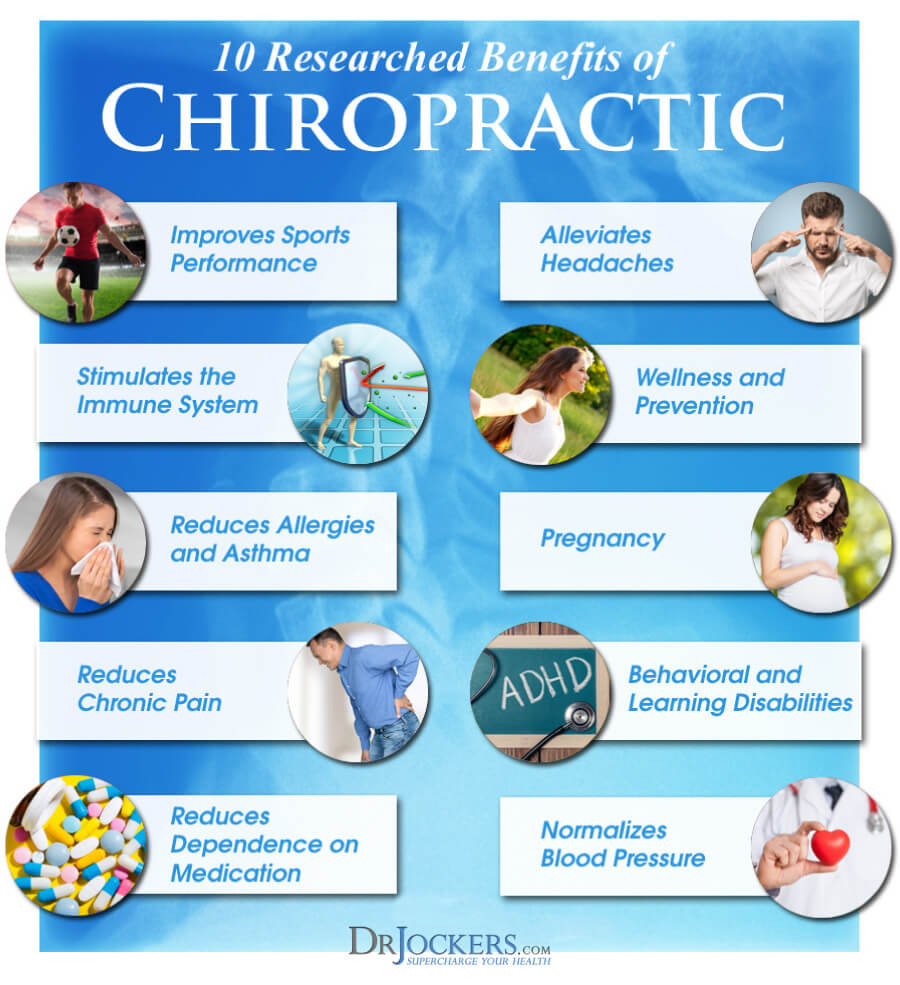chiropractic, 10 Researched Benefits of Chiropractic