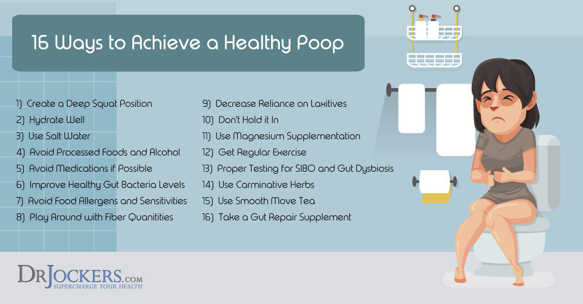 poop, 16 Ways to Achieve Healthy Poop