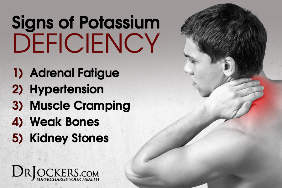 potassium, Potassium Deficiency:  5 Warning Signs and Solutions