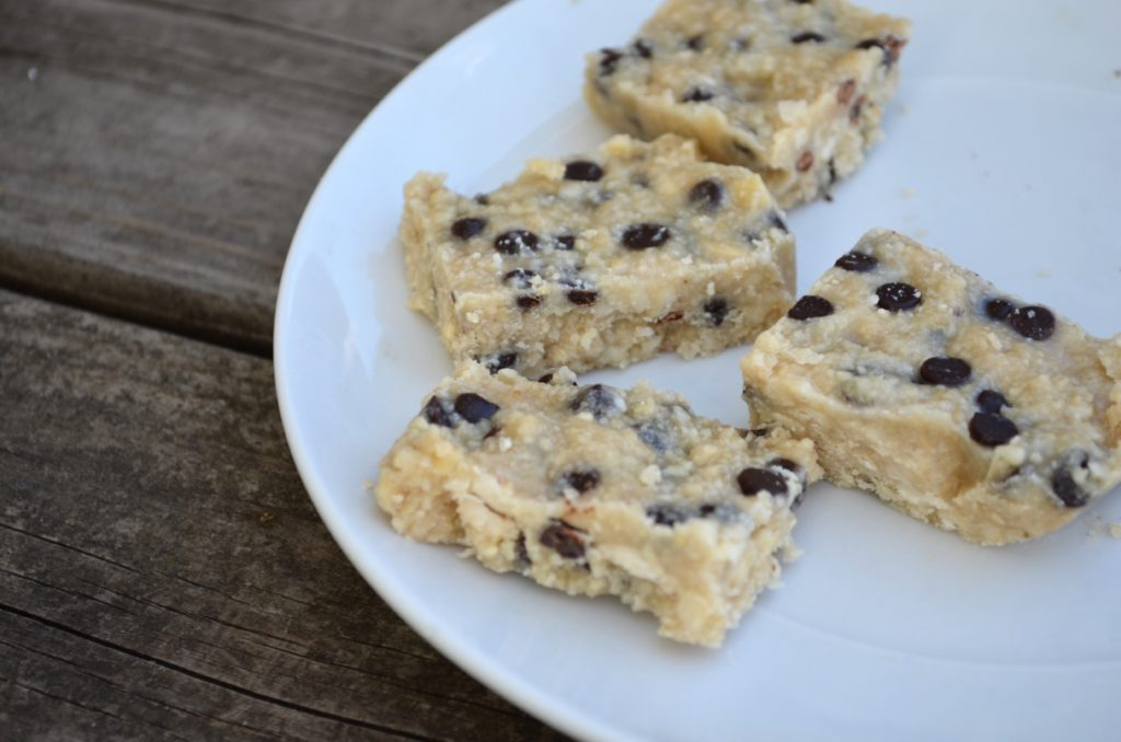 cookie dough bars, Cashew Cookie Dough Bars