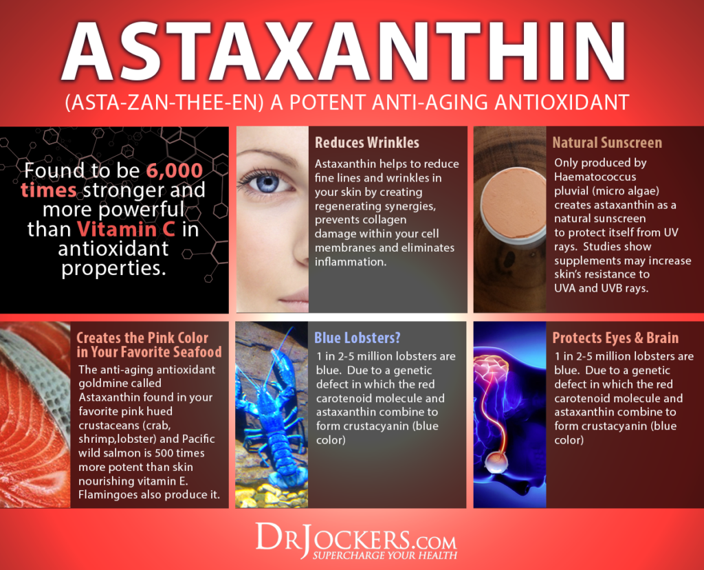 Astaxanthin, 3 Major Health Benefits of Astaxanthin