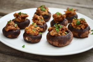 stuffed mushrooms, Paleo Stuffed Mushrooms