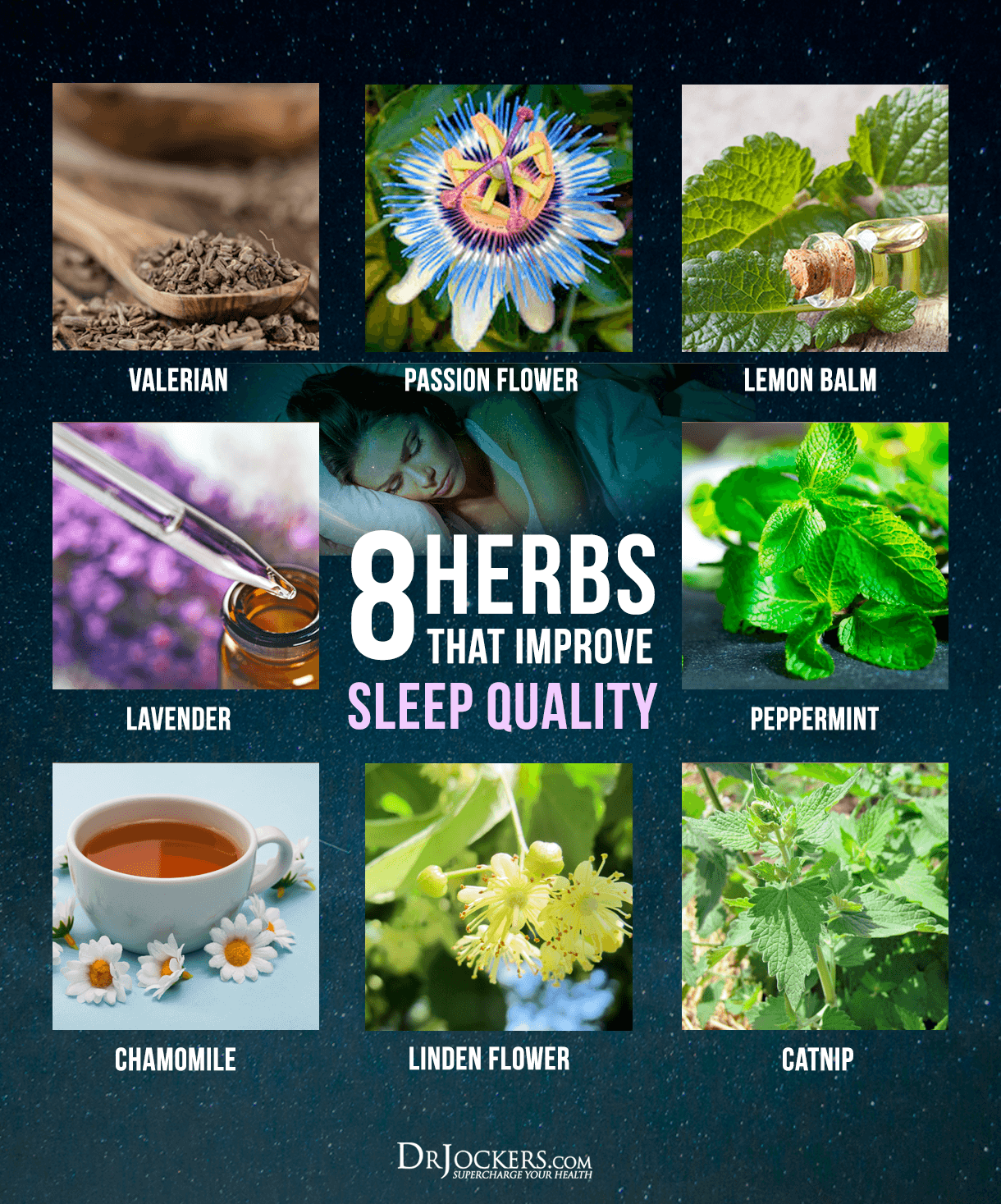 Improve Sleep quality, 8 Herbs that Improve Sleep Quality