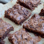 keto brownies, Chocolate Chip Keto Brownies
