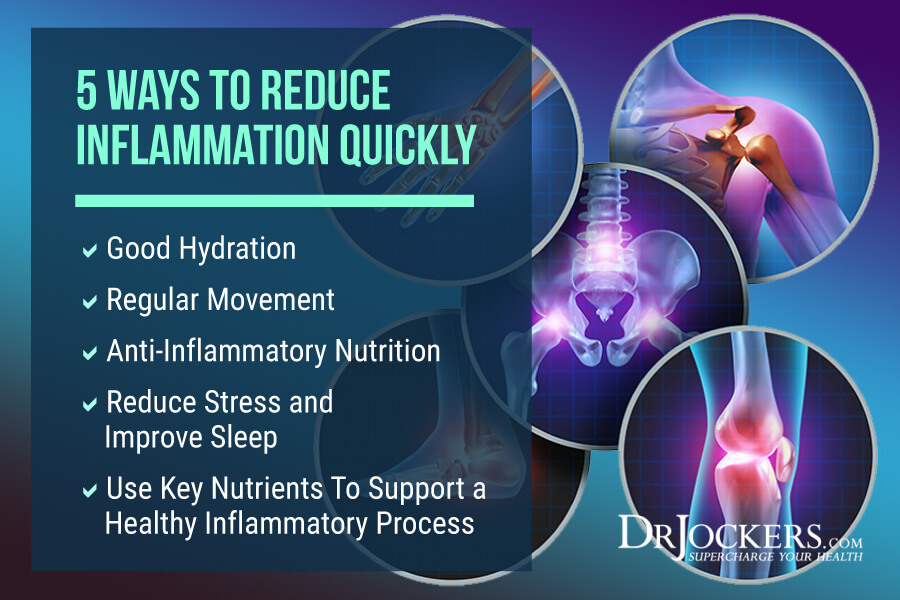 Inflammation, 5 Ways To Reduce Inflammation Quickly