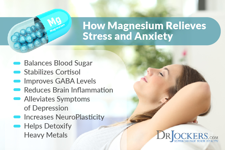 Magnesium, 7 Ways Magnesium Relieves Stress & Anxiety