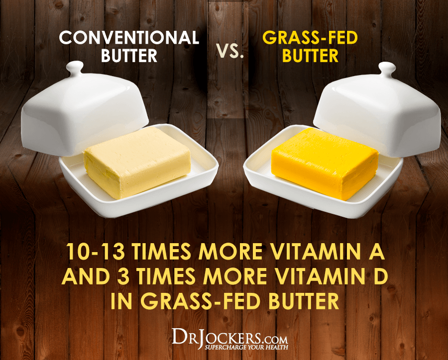 Butter, 6 Health Benefits of Grass-Fed Butter