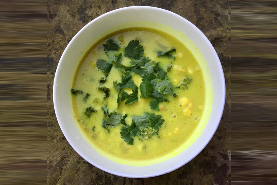 curry soup, Cleansing Coconut Curry Soup Recipe