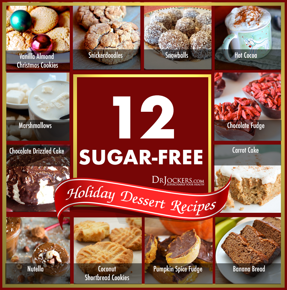 Dessert Recipes, 12 Sugar-Free Holiday Dessert Recipes