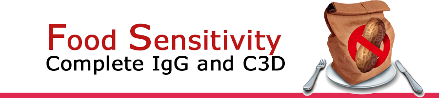 , Food Sensitivity Complete IgG and C3D