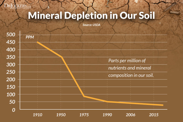 Depletion of Minerals in Soil