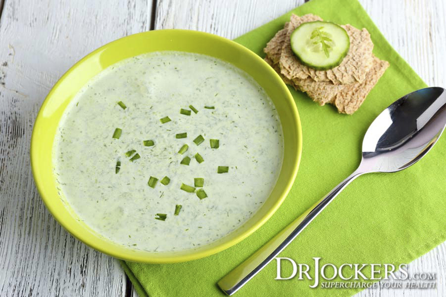 cucumber soup, Cleansing Cucumber Soup