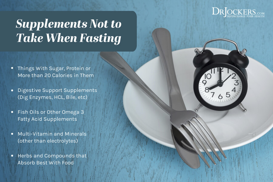 fasting supplements, Fasting Supplements:  What Helps and What Hurts a Fast