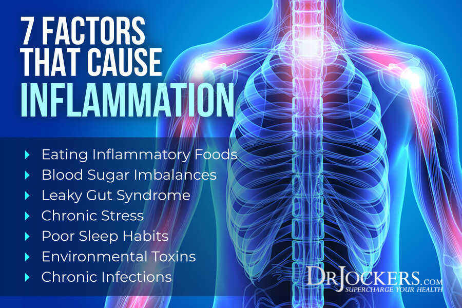 causes inflammation, What Causes Inflammation? 7 Key Contributors