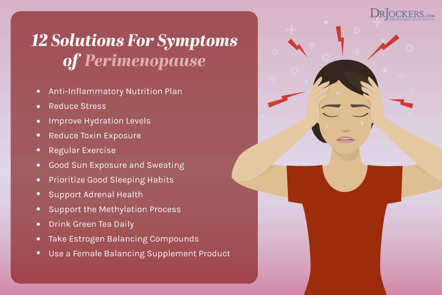 perimenopause, Perimenopause: Common Symptoms and Natural Solutions