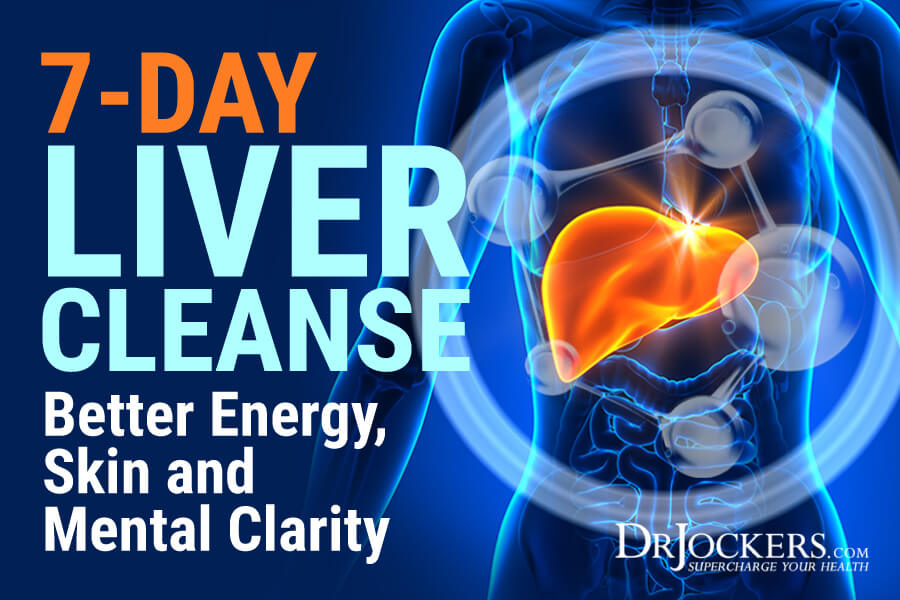 liver cleanse, 7-Day Liver Cleanse: Better Energy, Skin and Mental Clarity