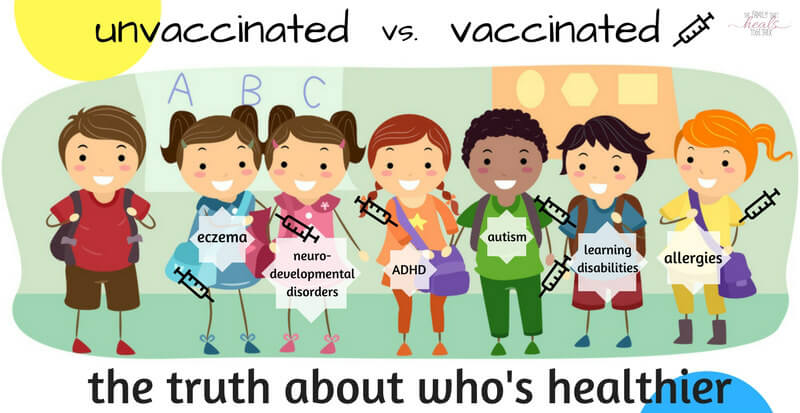 vaccinated, Vaccinated Versus Unvaccinated: Review of a 2017 Study