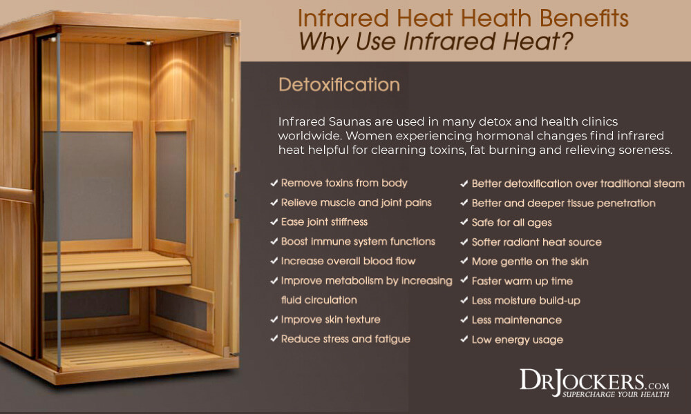 sauna, Detoxify Your Body with InfraRed Sauna