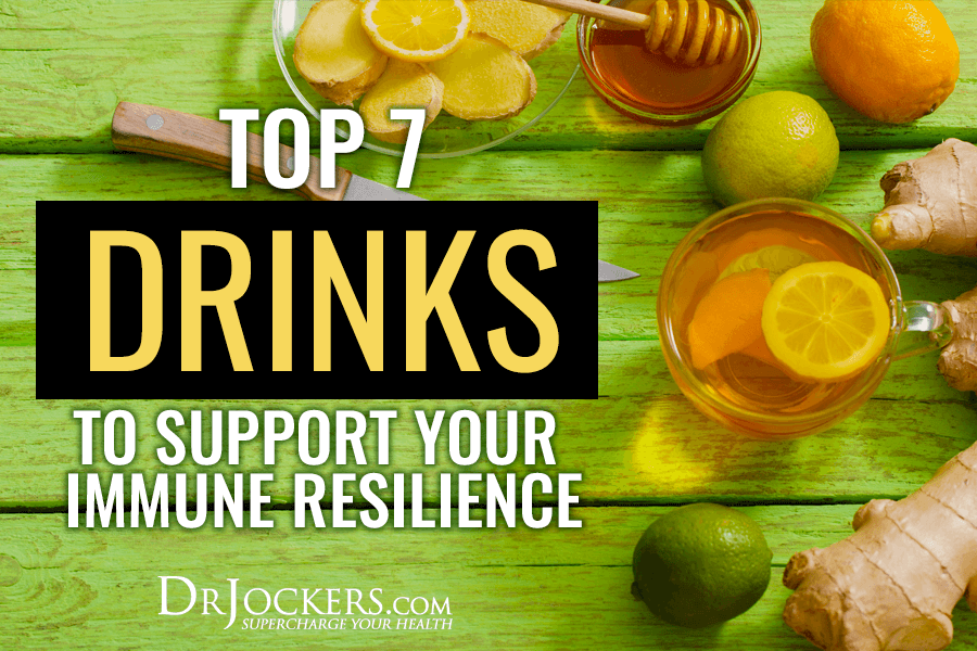 immune resilience, Top 7 Drinks to Support Your Immune Resilience